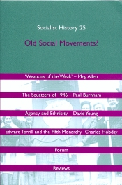 Cover of Socialist History, No 25